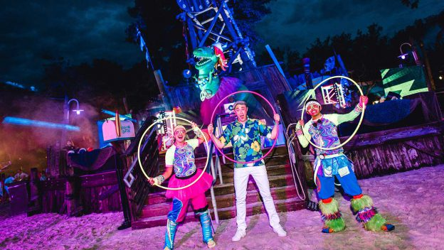 H2O Glow Nights At Disney's Typhoon Lagoon Are Back With More Glow Than Ever Before!