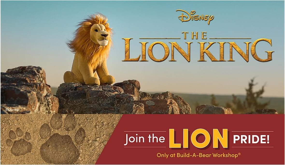 Join The Pride With The Lion King Build-A-Bear Collection 1