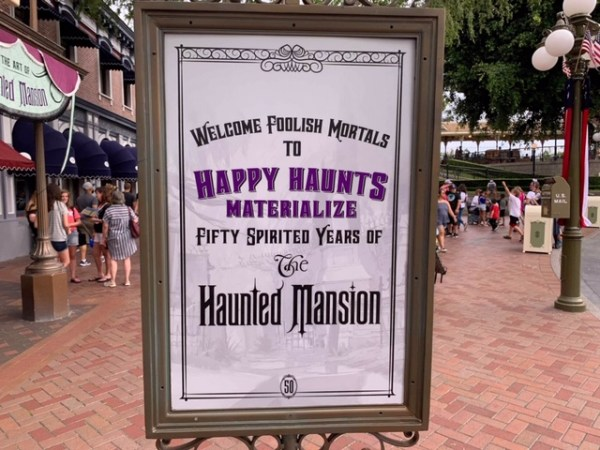 Happy Haunts Materialize Exhibit At the Disneyland Resort