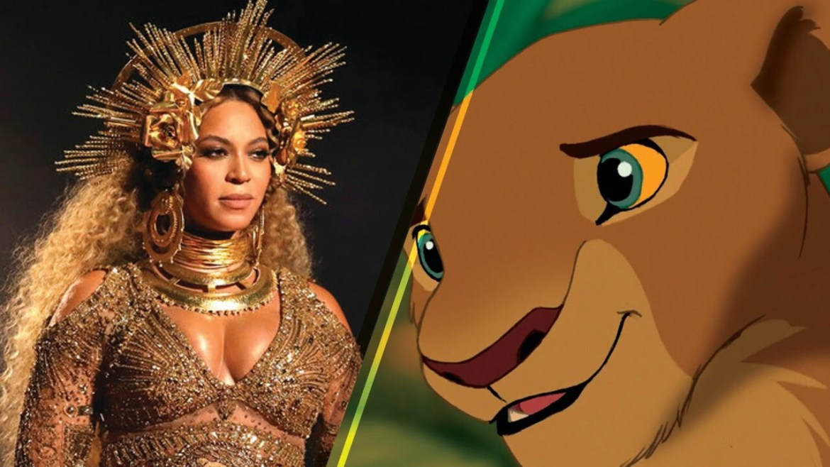 Watch This New Clip of Beyoncé as Nala in Disney's Lion King