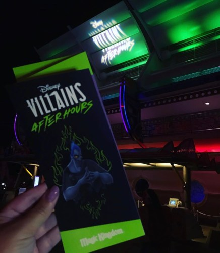 Villains After Dark at Disney's Magic Kingdom 1