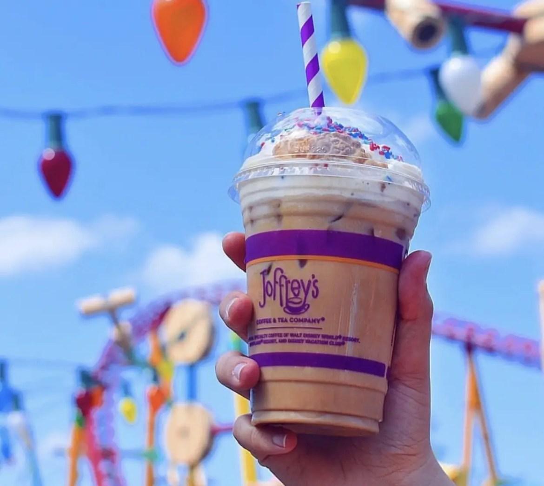 Round 'Em Up Latte At Joffrey's in Disney Springs
