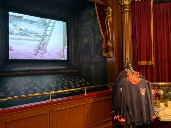 New Shop in Disneyland's Main Street Cinema