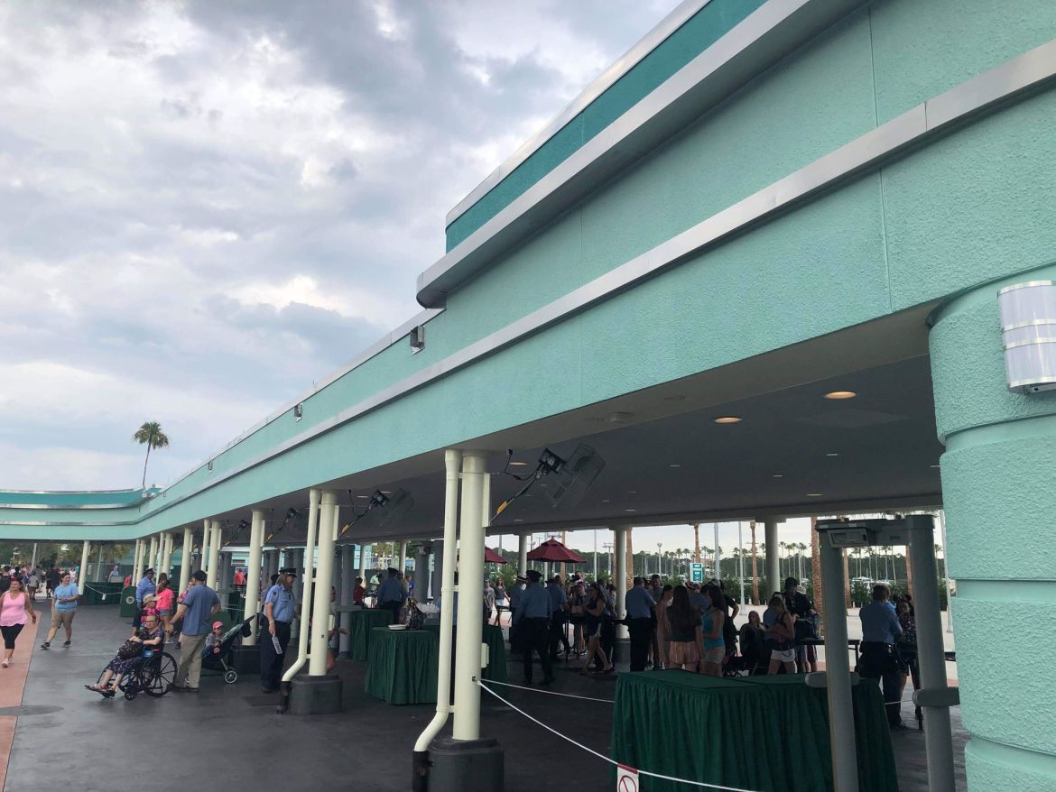 Tram And Security Updates At Hollywood Studios