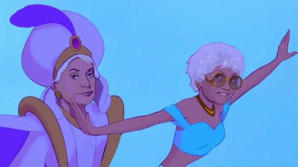 The Golden Girls Get Re-Imagined As Disney Princesses 7