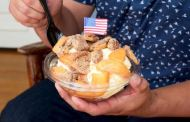Celebrate the 4th of July in Disneyland with an Apple Pie A La Mode Sundae