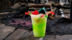 Halloween Time Treats at Disneyland Resort – Oogie Boogie-Inspired Drink with new Dice Glow Cubes