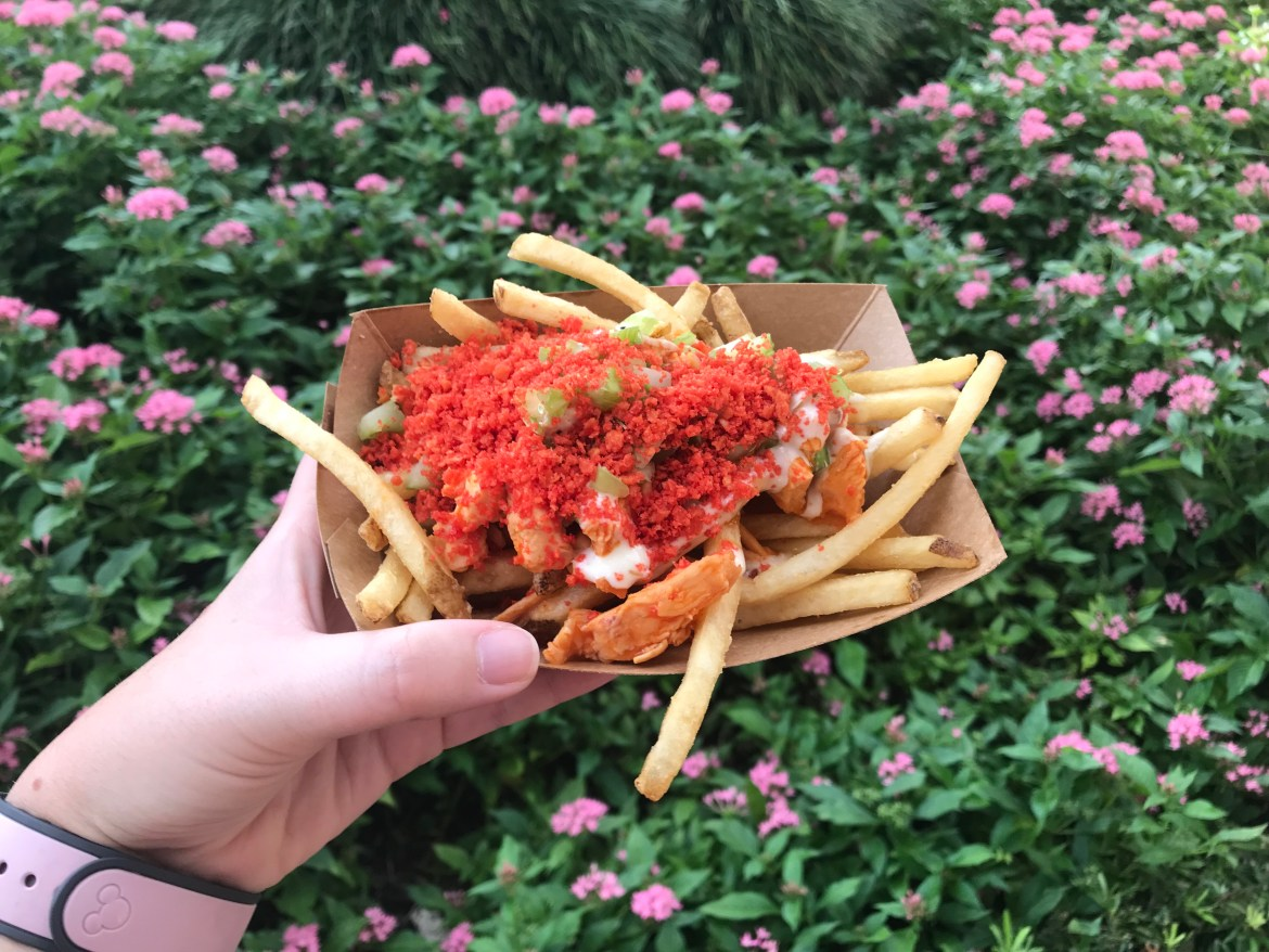 Buffalo Chicken Loaded Fries Are A Home Run At Casey's Corner