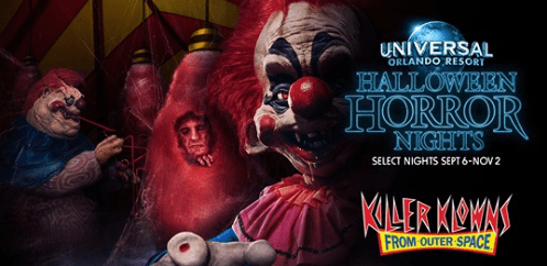 Killer Klowns from Outer Space house return for Halloween Horror Nights 2019