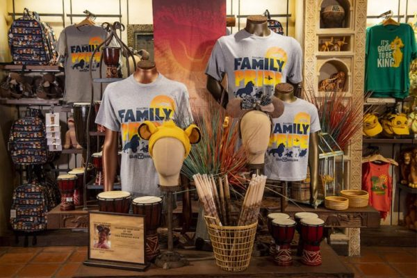 New Lion King Scavenger Hunt and Merchandise at Disney's Animal Kingdom 1