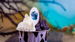 Halloween Time Treats at Disneyland Resort - Cruella de Vil-Inspired Brownie