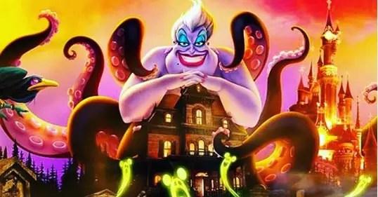 Ursula Joining the List of Ghoulish Villains at Disneyland Paris Halloween Soirée! 1