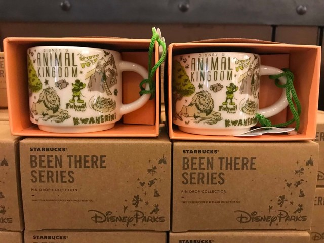 Disney Starbucks Ornament Mugs