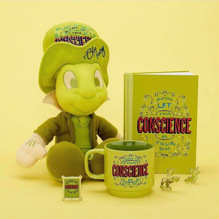 Jiminy Cricket Disney Wisdom Collectible Series for July 1