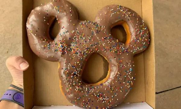 Mickey-Shaped Donuts