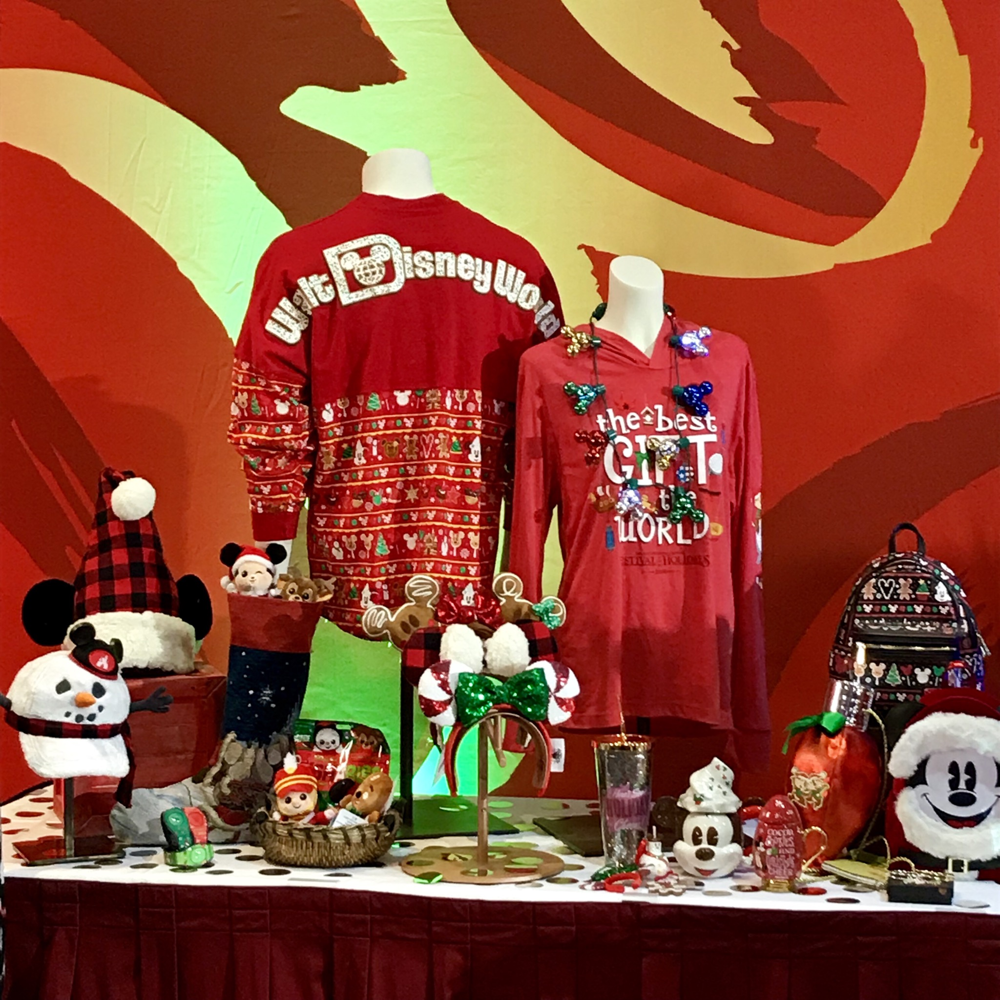 Fabulous Disney Holiday Merchandise Revealed At Disney's Christmas In July 1