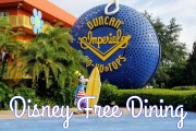 Disney Free Dining Offer for Fall 2019 Out Now