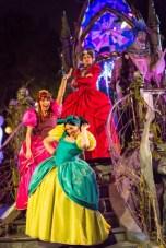 """Frightfully Fun Parade"" during Oogie Boogie Bash at Disney California Adventure Park"