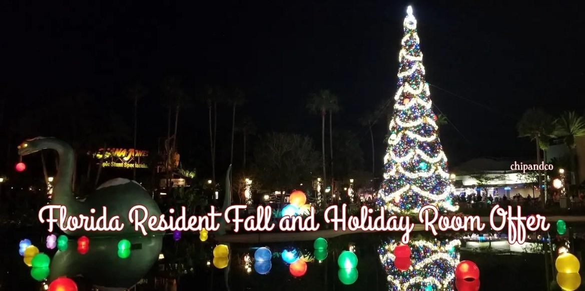 Florida Residents: Save Up to 25% on Select Disney World Resorts This Fall and Holiday Season