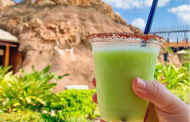 Lime DOLEwhip Margarita! 🌴🌋 at Disney's Polynesian Resort. 🌋🌴