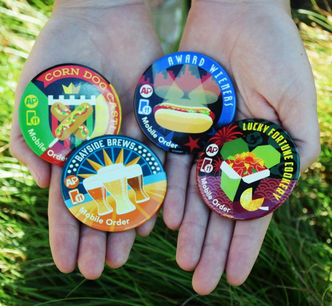 New Disneyland Annual Passholder Buttons