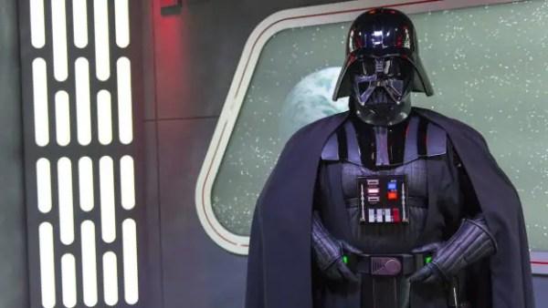 Darth Vader Meet & Greet replacing Kylo Ren at Star Wars Launch Bay 1