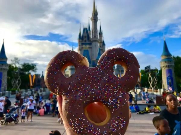 Mickey Celebration Donut Remians in Magic Kingdom at New Location