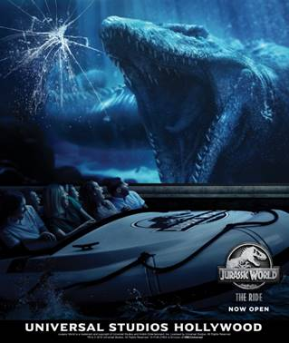 Jurassic World the Ride Opens  at Universal Studios Hollywood