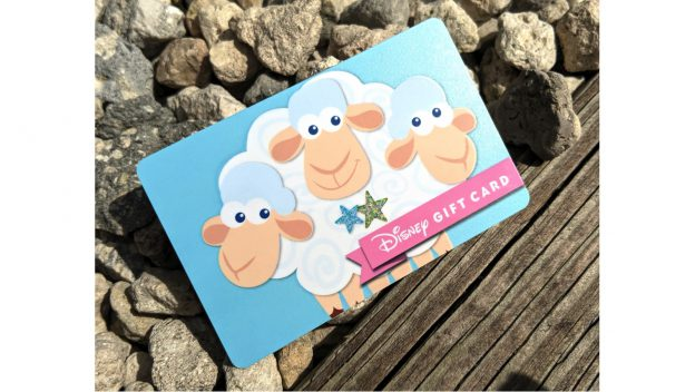 New Disney Gift Card Featuring Bo Peep's Sheep, Billy, Goat, and Gruff 1