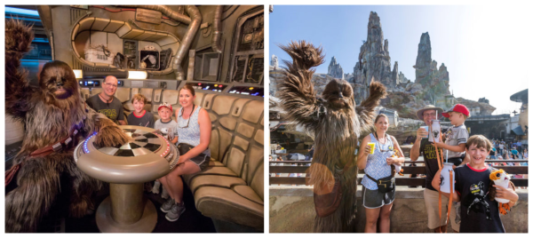 Millennium Falcon: Smugglers Run at Star Wars: Galaxy's Edge in Disneyland Park Takes It's Millionth Rider 3