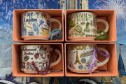 New Disney Starbucks Ornament Mugs Popping Up Around The Parks