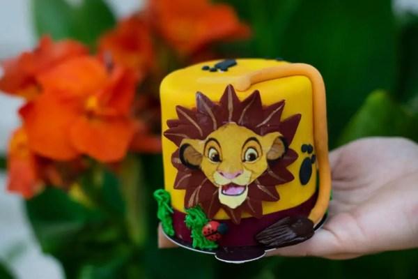 Amorette's Patisserie Lion King Cake