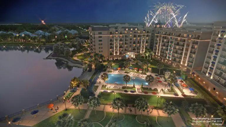 Spend New Year's Eve Atop Walt Disney World's Newest Resort