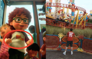 Pixar Easter Eggs Hidden in Google Street View Imagery of Toy Story Land