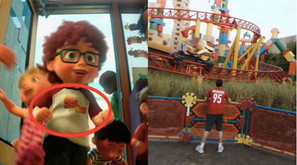 Pixar Easter Eggs Hidden in Google Street View Imagery of Toy Story Land 1