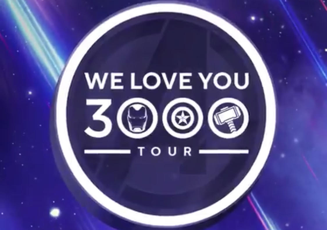 """Marvel Studios and Russo Brothers Launching """"We Love You 3000"""" Tour"""