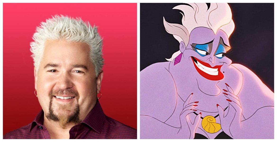 "Fans Want Guy Fieri to Play Ursula in ""The Little Mermaid"""