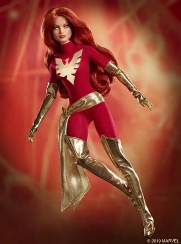 Marvel and Mattel Present X-Men Comics Barbie Dolls 8