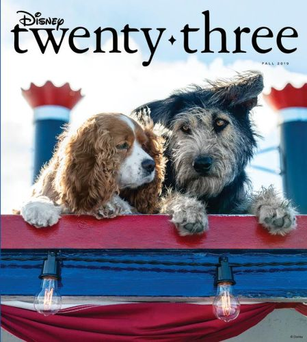'Lady and the Tramp' Are Dog-Gone Adorable on the Fall Cover for D23 3