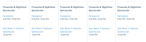 Fantasmic in Hollywood Studios is adding additional show for the opening of Star Wars Galaxy's Edge Weekend 2