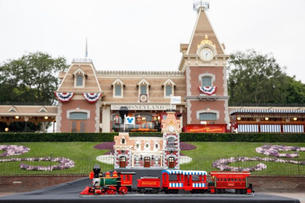 All new Disney Train and Station from LEGO coming Sept 1st! 3