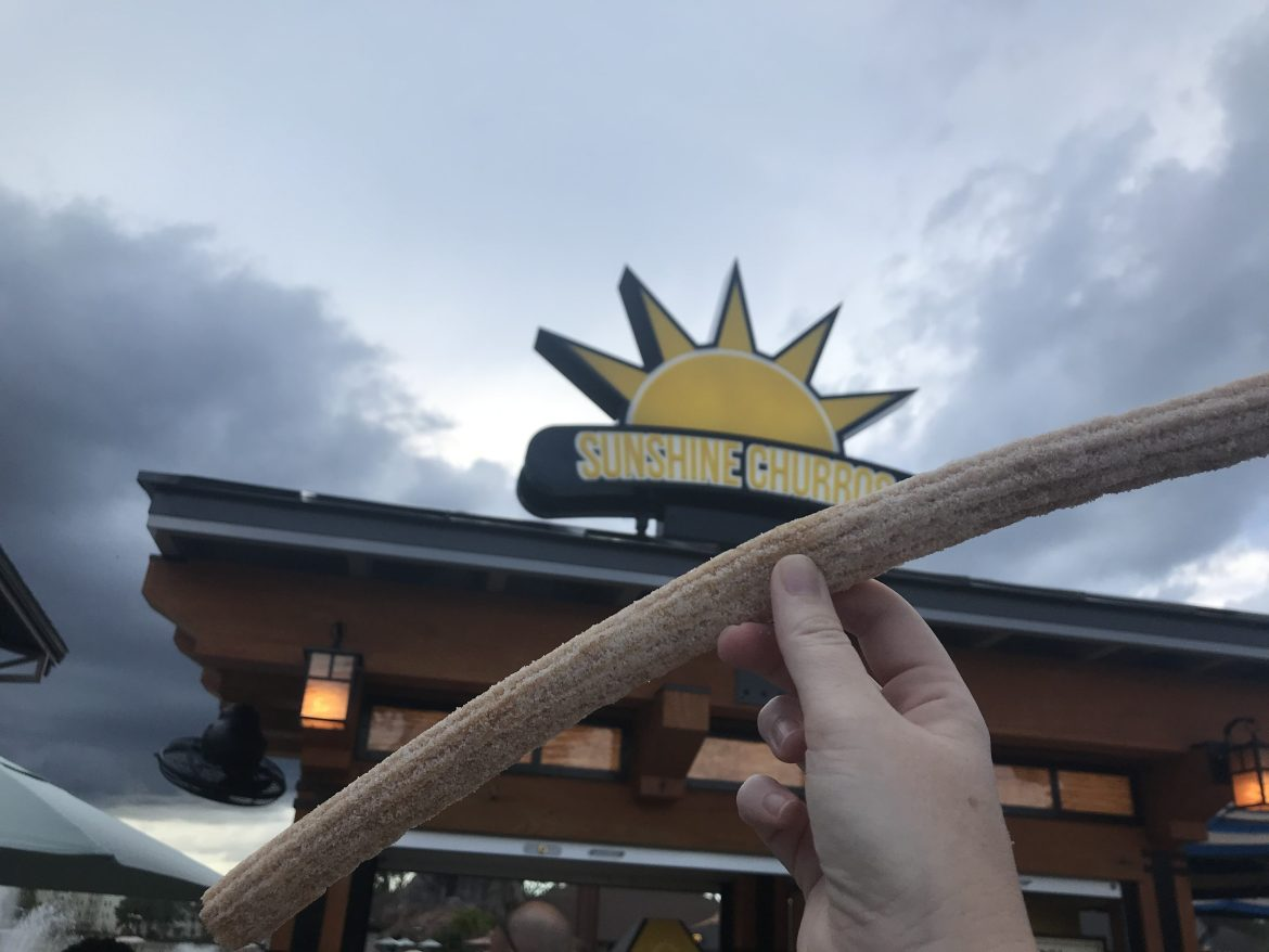 New Sunshine Churro Stand Now At Disney Springs