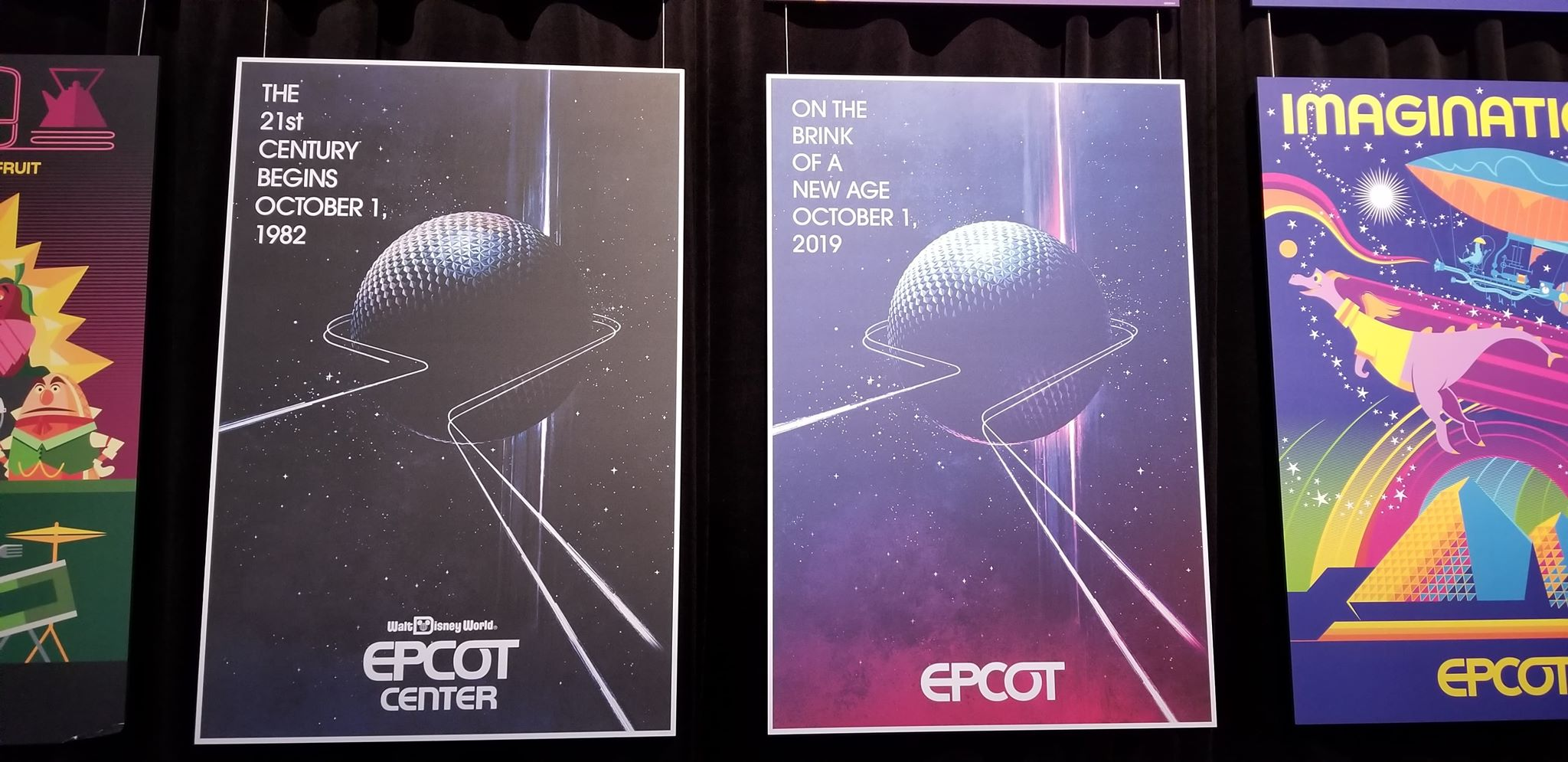 Spaceship Earth changes