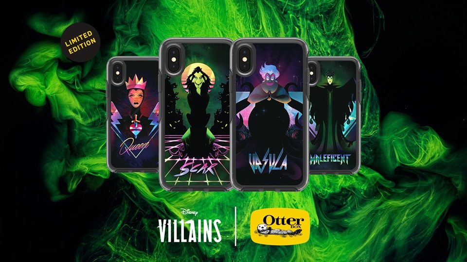 Disney Villains OtterBox Cases From D23 Now Available 1