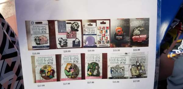2019 Epcot Food and Wine Festival Pins Released! 2
