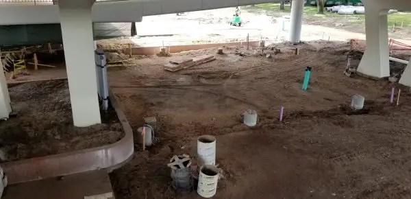 Walt Disney World Epcot Entrance Construction Begun! 5