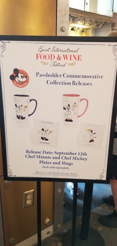 Epcot Food And Wine Merchandise Photo Tour 2