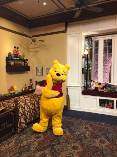 Winnie the Pooh Delighted Pass-holders At Epcot 3