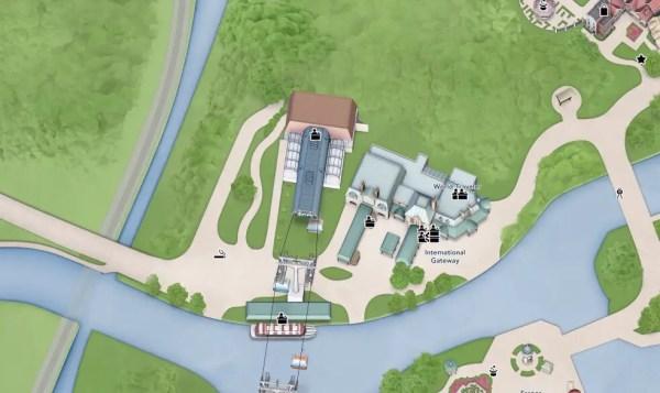 Disney's Skyliner Added to Disney World's Interactive Park Map 5