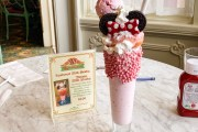 Not so Mini Minnie Milk Shake Hits Magic Kingdom